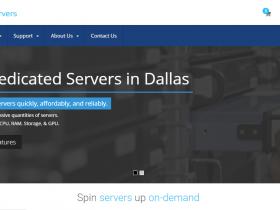 Spin Servers:便宜、高配、美国独立服务器促销,2*e5-2630Lv2/64g内存/1.6T SSD/10Gbps带宽,特价$89/月