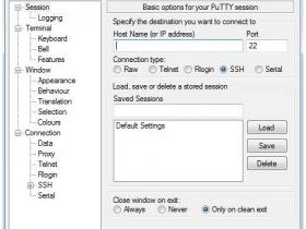 Windows系统下使用Putty客户端远程连接linux vps教程