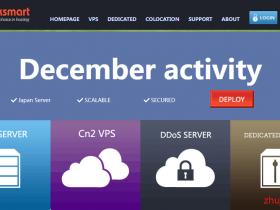 Raksmart十二月促销:1Gbps-10G口带宽不限流量独立服务器,国际BGP线路独服买1个月送1个月