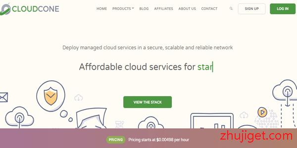 CloudCone:$15/年,洛杉矶CN2 GIA/512M内存/15G SSD/1Gbps带宽@6T流量,可支付宝